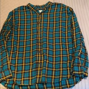 Men's Button Down Flannel